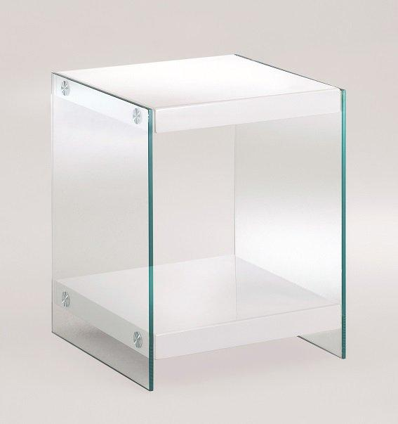 Tables basses inside75 achat vente de tables basses for Table bout de canape en verre