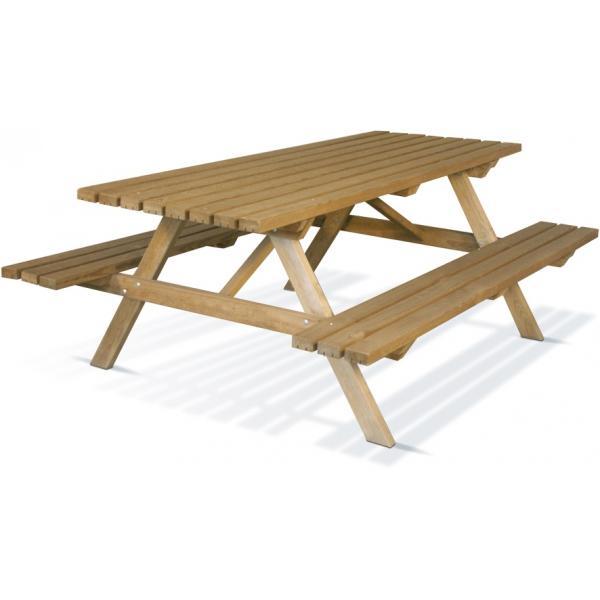 Awesome Construire Table De Jardin En Bois Gallery - Matkin.info ...