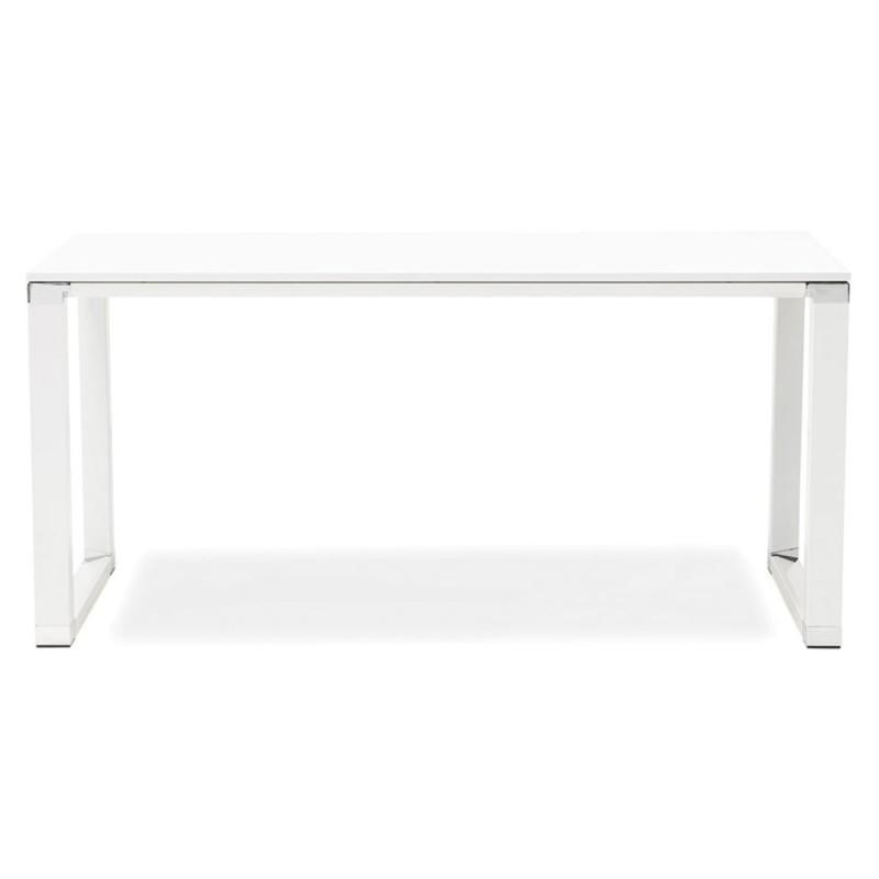 Bureau bois paris prix hovik blanc design nwX0OZPkN8