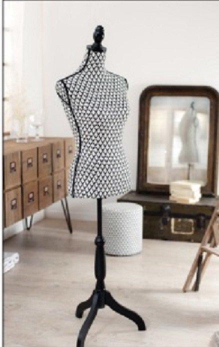 mannequin de couture buste valentine. Black Bedroom Furniture Sets. Home Design Ideas