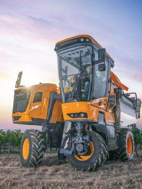 Optimum machine à vendanger - pellenc - puissance nominale - ch 150 173