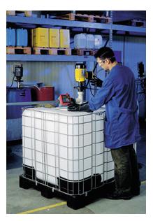 Pompe vide conteneurs b50 lutz pour le vidage rapide de for Prix d un conteneur vide