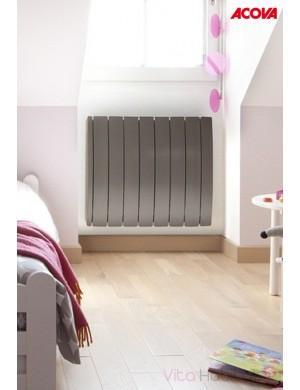 radiateur lectrique acova taiga lcd tak 750w inertie. Black Bedroom Furniture Sets. Home Design Ideas