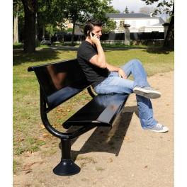 banc metallique oslo acier 1500 ref 8209120. Black Bedroom Furniture Sets. Home Design Ideas