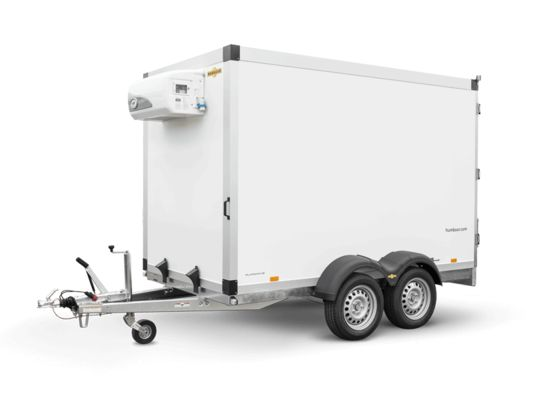 Hk 25 32 18 - 20 pf 30 basic - remorque frigorifique - humbaur - charge utile 1600 kg