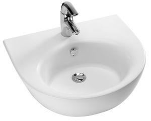 Lavabo semi encastre pedestal lavatorie reference e1525 for Baignoire semi encastrable