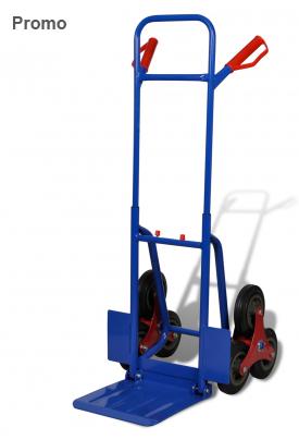 Diable 6 roues bleu et rouge capacite de charge 200 kg - Diable 6 roues ...