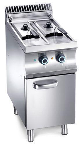 Friteuse mbm sur coffre electrique ou gaz friteuse gaz mbm for Cuisine gaz ou electrique