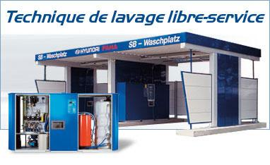 portique de 2 a 4 pistes pour lavage vehicule. Black Bedroom Furniture Sets. Home Design Ideas