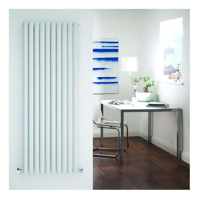 radiateur design vertical blanc vitality 160cm x 59cm x 5cm 1402 watts hudson reed comparer. Black Bedroom Furniture Sets. Home Design Ideas