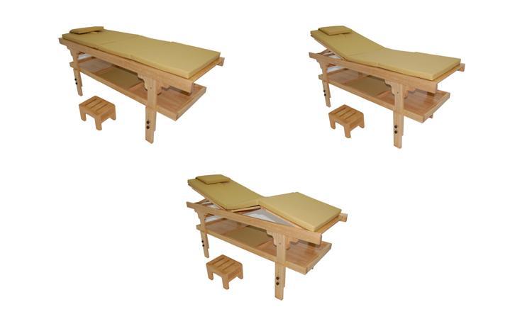 Table fixe en bois luxe moorea 3 sable