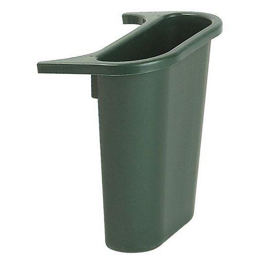 bac de tri pour poubelle rectangulaire rubbermaid 4 5 l comparer les prix de bac de tri pour. Black Bedroom Furniture Sets. Home Design Ideas