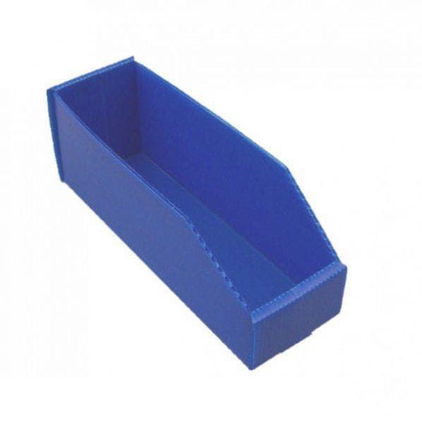 Bac à bec polypropylène eco - profondeur 380 mm capacité 2,8 litres bleu