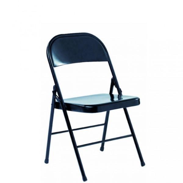 Chaise mtallique gallery of download image with chaise mtallique chaise coque tissu bleu pieds - Chaise metallique design ...