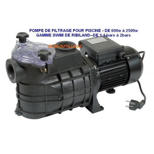 Pompes de filtration pour piscines ribimex achat vente for Grossiste materiel piscine
