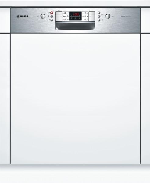 bosch lave vaisselle integrable supersilence smi53m45eu smi 53 m 45 eu inox. Black Bedroom Furniture Sets. Home Design Ideas