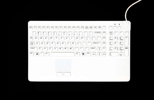 CLAVIER K10MED IP68 SILICONE RIGIDE MILIEU MEDICAL-DENTISTERIE-AGROALIMENTAIRE