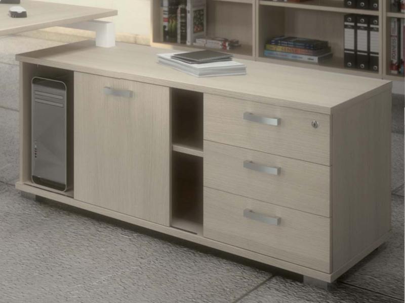 Cr dences de bureau comparez les prix pour for Bureau design 2 tiroirs