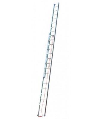 echelle coulissante a corde 2 plans en aluminium. Black Bedroom Furniture Sets. Home Design Ideas