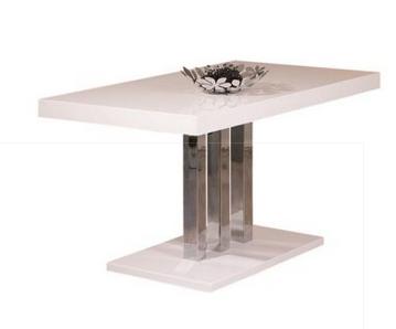 Meubles atlas produits table manger - Table laque blanche ...