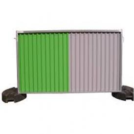barriere de chantier pleine 2m x1m. Black Bedroom Furniture Sets. Home Design Ideas