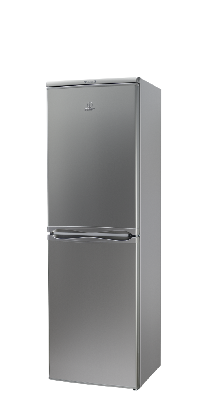 indesit refrigerateur combine caa55nx caa 55 nx inox. Black Bedroom Furniture Sets. Home Design Ideas