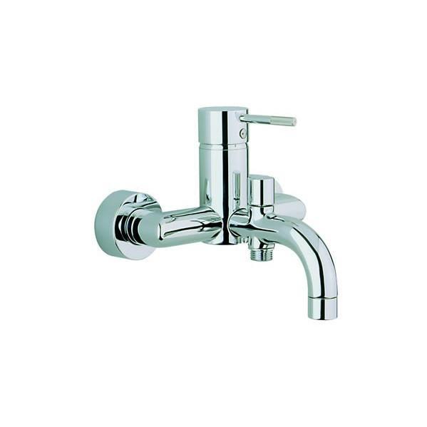 robinet mitigeur bain douche mural cisal step nickel satin comparer les prix de robinet. Black Bedroom Furniture Sets. Home Design Ideas