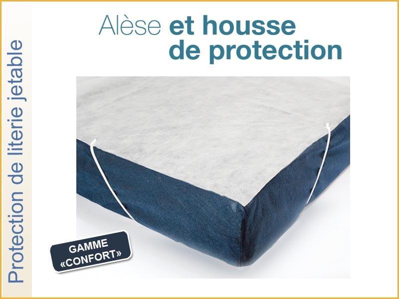 ALÈSE PLATEAU JETABLE GAMME CONFORT 140X190 RÉF.AL140