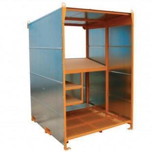 abris de chantier cabane a plan compact. Black Bedroom Furniture Sets. Home Design Ideas