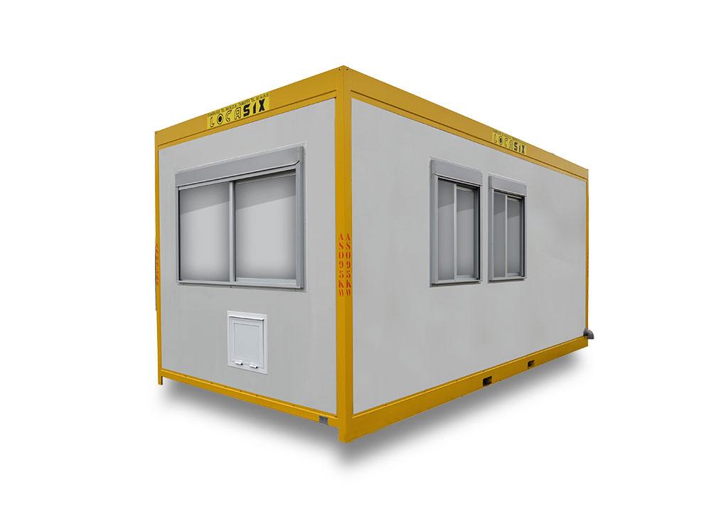 container avec kitechenette toilette lavabo askw. Black Bedroom Furniture Sets. Home Design Ideas