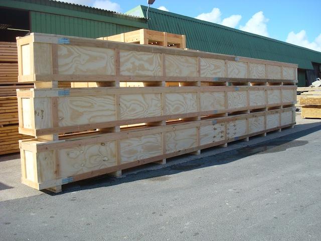 Caisses palettes en bois tous les fournisseurs palox for Conteneur bois