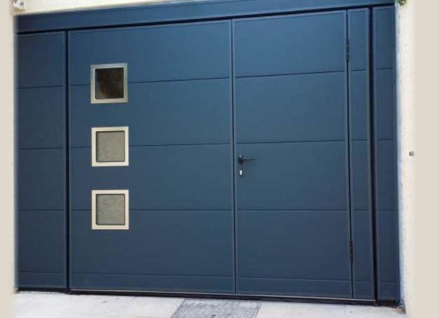 Portes de garage les fournisseurs grossistes et - Porte garage basculante motorisee ...