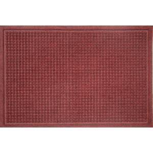 tapis materiau polypropylene boucles dos en caoutchouc 85 cm x 120 cm rouge. Black Bedroom Furniture Sets. Home Design Ideas