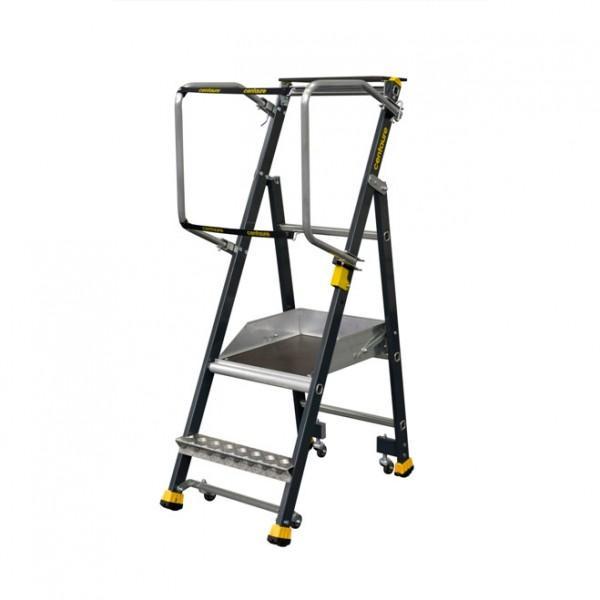 escabeau a roues tous les fournisseurs escabeau plateforme securisee a roues echelle de. Black Bedroom Furniture Sets. Home Design Ideas