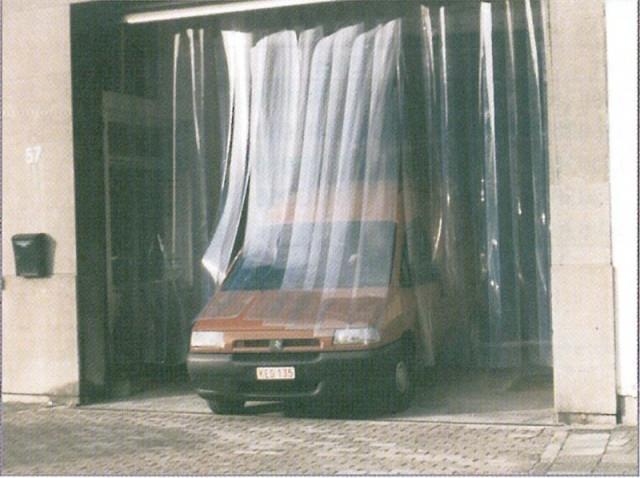 laniere de porte en pvc souple transparent. Black Bedroom Furniture Sets. Home Design Ideas