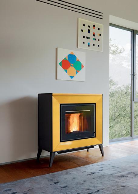 poeles a granules piazzetta line. Black Bedroom Furniture Sets. Home Design Ideas