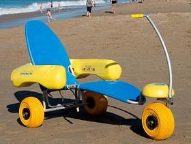 Équipements de loisir pour personne handicapée