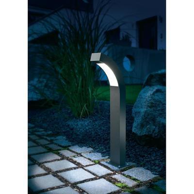 Lampadaire led ext rieur esotec line 4 5 w anthracite 60 cm comparer les prix - Eclairage allee exterieure ...