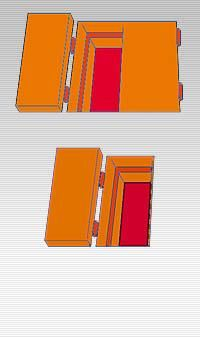 trappe pare feu de visite 2 vantaux 60 39. Black Bedroom Furniture Sets. Home Design Ideas
