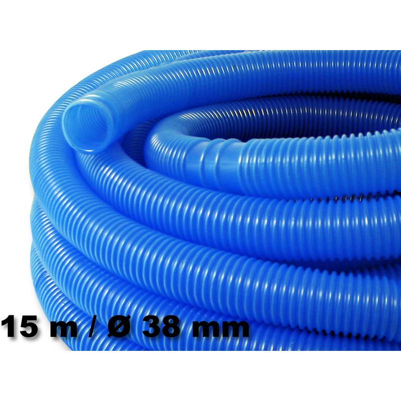 15m 38mm tuyau de piscine d 39 aspiration flottant sections for Tuyau noir piscine