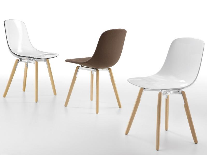 CHAISE 4 PIEDS BOIS - PURE LOOP