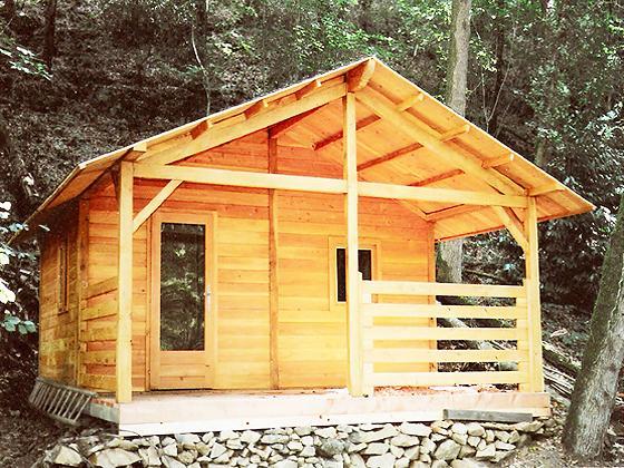 Fabrication de chalet en bois fabrication chalet bois - Construction petit chalet ...