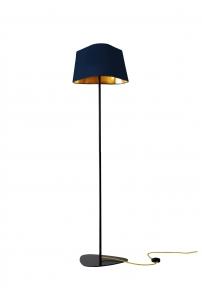 lampadaire 162 grand nuage bleu marine et or. Black Bedroom Furniture Sets. Home Design Ideas