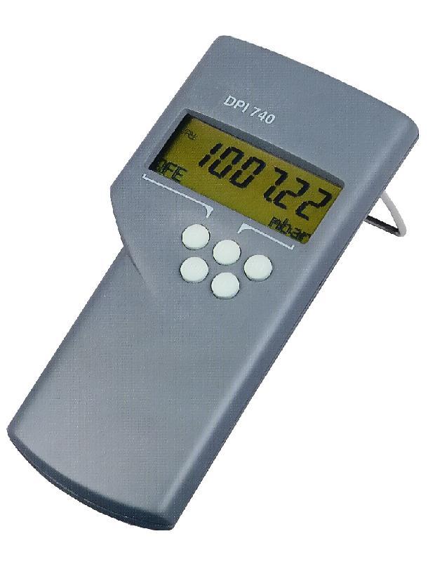 Indicateur portatif de pression 750 à 1150 hpa absolue