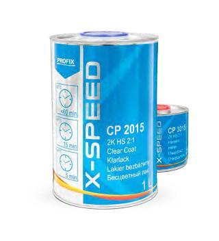VERNIS CP2015 X-SPEED 1L5 SÉCHAGE À L'AIR RAPIDE AIR DRY DURCISSEUR INCLUS - BVD