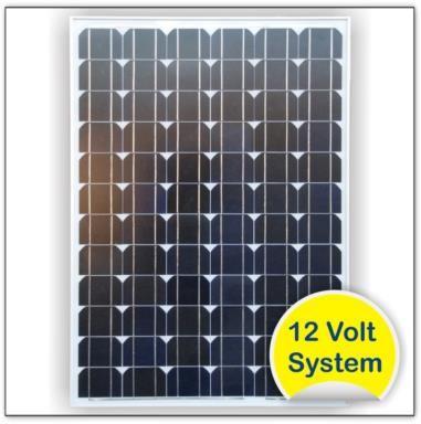 panneau photovoltaique 100w systeme 12v. Black Bedroom Furniture Sets. Home Design Ideas