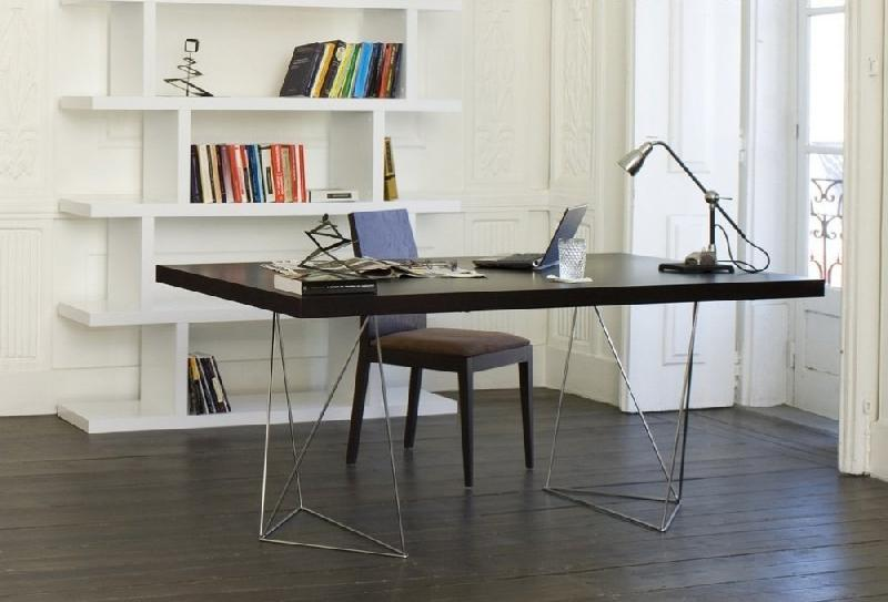 bureau design temahome trestles 180 x 90 cm comparer les prix de bureau design temahome trestles. Black Bedroom Furniture Sets. Home Design Ideas