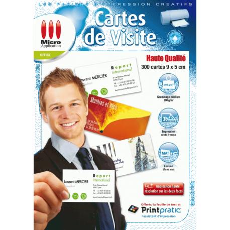 Logiciels Pour Creer Ses Cartes De Visite A Micro Application