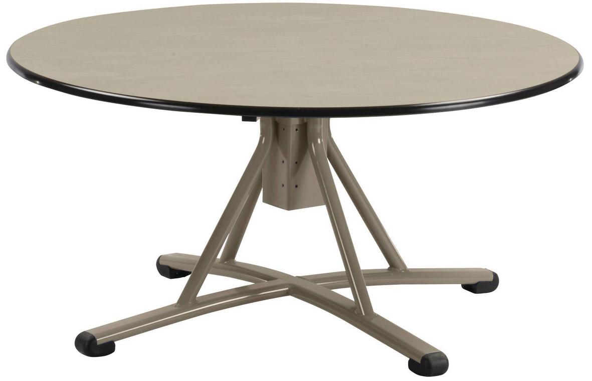 TABLE MALIBU HAUTEUR RÉGLABLE Ø 120 CM