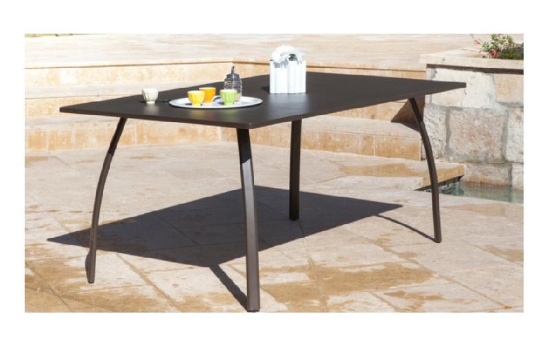 PROLOISIRS TABLE DE JARDIN GRANADA 170 ROUILLE